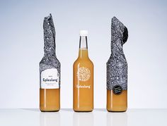 The Dieline Awards Place Non-Alcoholic Beverages- Epleslang — The Dieline - Branding & Packaging Juice Packaging, Bottle Packaging, Brand Packaging, Product Packaging, Packaging Ideas, Wine Photography, Digital Print, Non Alcoholic Drinks, Apple Juice