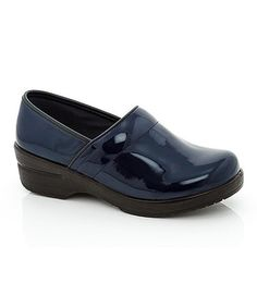 Another great find on #zulily! Navy Patent Dannis Clog by Lady Godiva #zulilyfinds