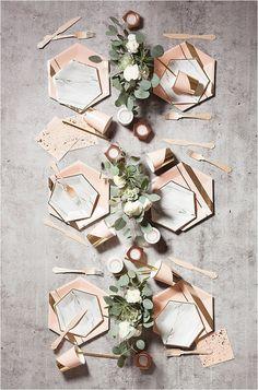 Graceful 50+ Wedding Table Setting Inspiration https://bridalore.com/2017/12/15/50-wedding-table-setting-inspiration/