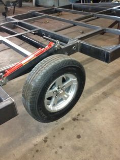 Hydraulic drop down torsion axel fish house frame « Fish House for Sale Trailer Build, Car Trailer, Utility Trailer, Pickup Accessories, Ice Shanty, Homemade Trailer, Trailer Suspension, Custom Trailers, Ice Houses