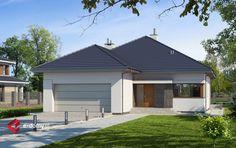 E-181 - E-DOMY.pl Projekty domów jednorodzinnych, piętrowych, energooszczędnych.