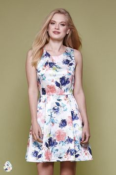 Floral Occasion Dress Multi | Yumi