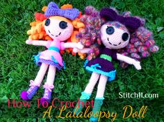 Free Crochet Lalaloopsy Crochet Pattern. ☀CQ #crochet. Thanks so much for sharing! ¯_(ツ)_/¯
