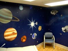 Someday I want to open my own pediatric clinic... I don't want kids to worry when they come through the doors thinking about shots or scary white walls.