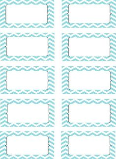 Chevron tags for Ian's album. Print on sticky labels , put on cardstock & use for journaling cards.