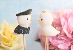 Wedding cake toppers Military  Love birds US Army by PassionArte, $99.00