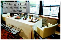 Customer Q&A: Sometimes I see a cover that's really cheap, what is the difference? - Find out: http://www.tablevogue.com/faq   Tablevogue, Table covers, Table cover, tablecover, holiday place settings, decorated table, fitted tablecover, fitted tablecloth, tablecloth