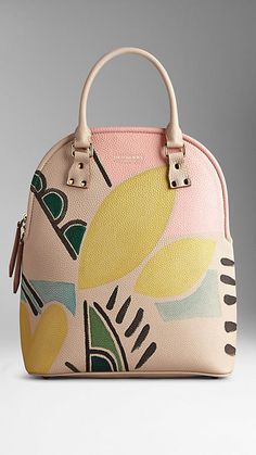 The Bloomsbury in Hand-Painted Leather   Burberry