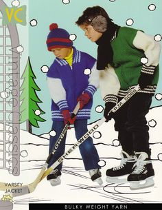 great pattern for the little hockey player