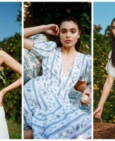Reformation Pre-Spring 2020 Dresses Shop | Fashion Gone Rogue Mini Dress With Sleeves, Maxi Wrap Dress, Reformation, Fashion Labels, Women's Summer Fashion, Printed Skirts, Dress Brands, Sustainable Fashion, Flare Dress