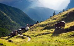 Six Swiss Mountain Villages for the Ultimate Escape