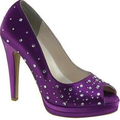 Purple. I would so wear this if they came on a wide width!