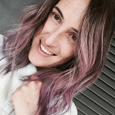 #purple #hair #pink #hair #hairstyle  Snap simo.pastore Ig @theredmoustaches