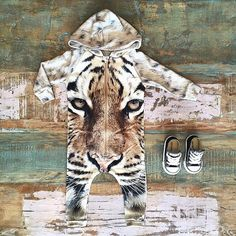 NEW • #Popupshop #organic tiger hoodie suit & #Converse kids #Chucks. Shop these styles at #TinyStyle in #Noosa & online •  www.tinystyle.com.au  #popupshopkids #coolkidsclothes #tiger #onesie