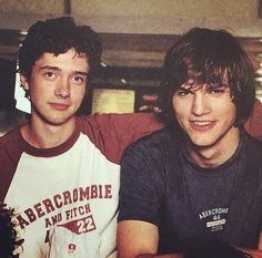 Topher and ashton back in the 90's