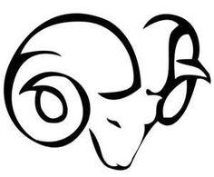 Tags Tattoo  Tribal Aries