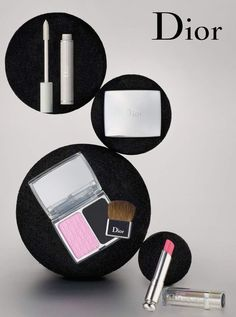 Dior makeup up still life