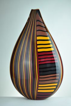 morgan contemporary glass gallery - Images for David Calles - Pimpollo, deep browns