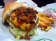 Our Own Chili Burger @ Chili's Grill and Bar, Whitefield, Bangalore