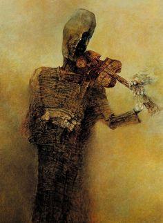 Untitled - Zdislav Beksinski (Play that funky music 'til you DIE!)
