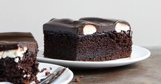 Regional favorite Bumpy Cake features cake, buttercream, and poured frosting.