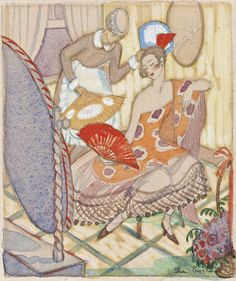 Thea Proctor (1879-1966) - Women with Fans