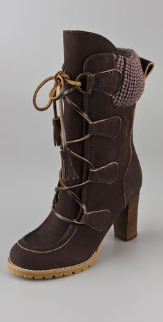 Chole Laceup boot at shopbop.com