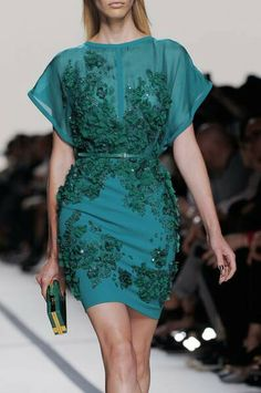Elie Saab 2014. Coctail dress