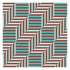 Love the brown and turquoise colour combination. Geometric Patterns, Graphic Patterns, Textile Patterns, Geometric Shapes, Print Patterns, Surface Pattern Design, Pattern Art, Textiles, Impression Textile