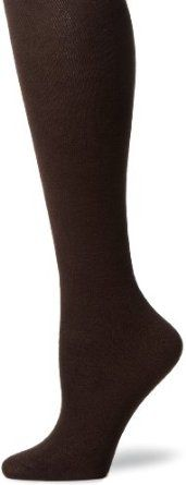 Capezio New York Women`s Spun Rayon Flat Knit Knee High Socks $12.00