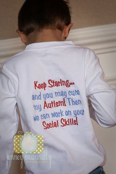 Autism Shirt by BGThreads on Etsy