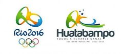 #seLIGA     Viram essa? A prefeitura da pequena cidade mexicana de Huatabampo está sendo acusada de plagiar o logo dos Jogos Olímpicos Rio 2016….O que acham? Coincidência ou plágio?