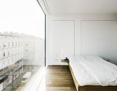 zander roth architected, minimal, interiors, architecture, bed, inspiration, sunday sanctuary, oracle fox