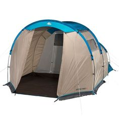 Quechua Arpenaz Instant Camping Family Tent 4 Man Bedroom Outdoor Hiking Pop Up