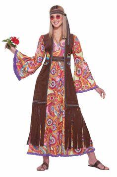 frauenkostüme hippi kostüm karneval ideen