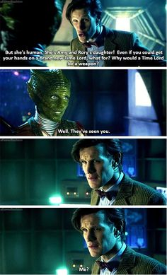 And for the first time ever, the Doctor is forced to view himself through the eyes of his enemies.