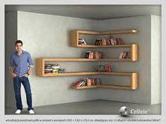 Znalezione obrazy dla zapytania półki na książki