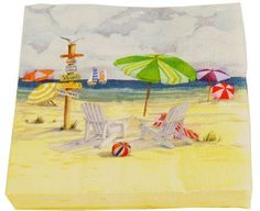 Cape Shore Summer Day At The Beach Beverage Napkins by Cape Shore. $3.15. beachball ball chairs umbrellas sailboat seagull. summer day beach beverage napkins cocktail drink. captures the fun, color, and nostalgia of a summer. day at the beach. The painted scene features bold. sand scene-This cheerful day at the beach scene. This cheerful day at the beach scene captures the fun, color, and nostalgia of a summer day at the beach. The painted scene features bold co...