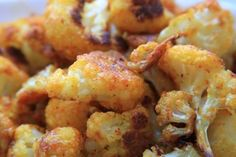 Oven Roasted Cauliflower Fries