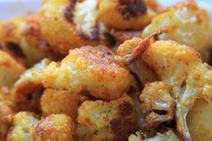Oven Roasted Cauliflower Fries