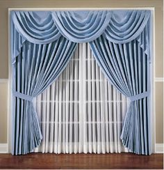 Beautiful curtains for his home. Luxury Curtains, Elegant Curtains, Beautiful Curtains, Sliding Door Window Treatments, Window Treatments Living Room, Window Coverings, Tulle Curtains, Home Curtains, Hanging Curtains