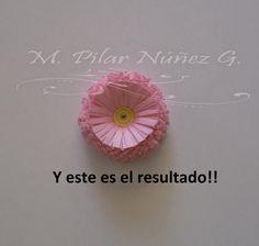 Quilling Chile ❀ Filigrana en Chile (By Pily Núñez): Tutorial flores en filigrana en papel o quilling