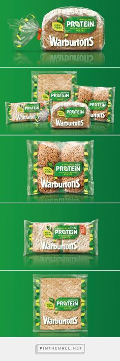 Warburtons Protein - Packaging of the World - Creative Package Design Gallery - http://www.packagingoftheworld.com/2016/09/warburtons-protein.html
