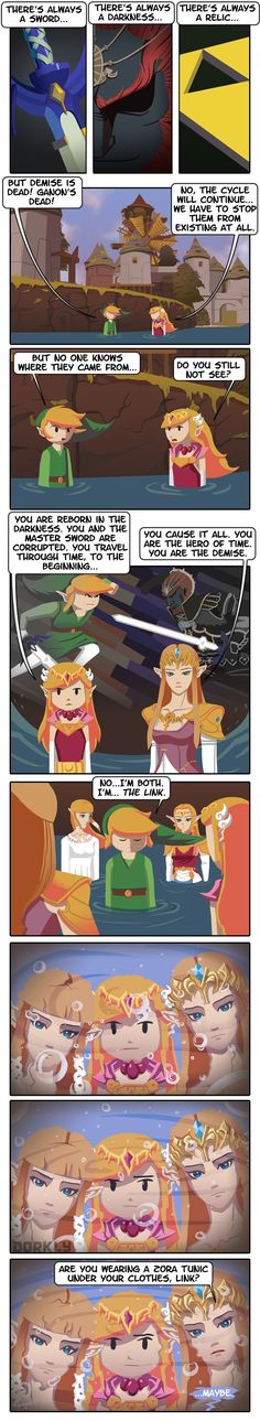 ZeldaShock Infinite (Warning: Spoilers) - Dorkly Comic