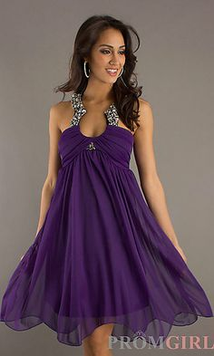 Homecoming Party Dress at PromGirl.com