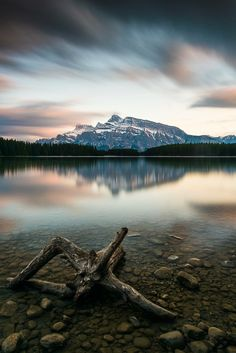 """emcritchiephotography: """" Banff showing off again! """" Banff National Park in Alberta, Canada."""