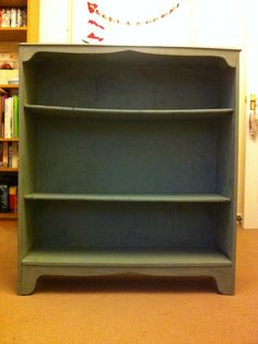 Freebie project completed in Annie Sloan Duck Egg Blue.