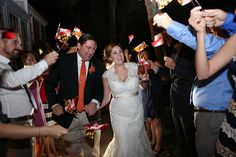 Kent Manor Inn Wedding Blog — Wedding Savvy Consulting, Inc. bride and groom grand exit