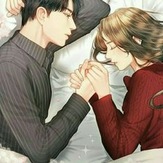 Collection of Images - 019 - Wattpad Cute Couple Comics, Couples Comics, Cute Couple Art, Anime Love Couple, Manga Couple, Couple Cartoon, Anime Couples Manga, Cute Anime Couples, Anime Couples Sleeping