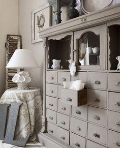 grey decor ..... imagine in your favorite color